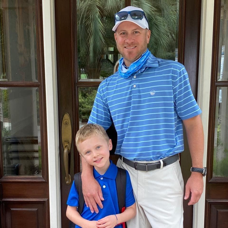 Blake Smith and son